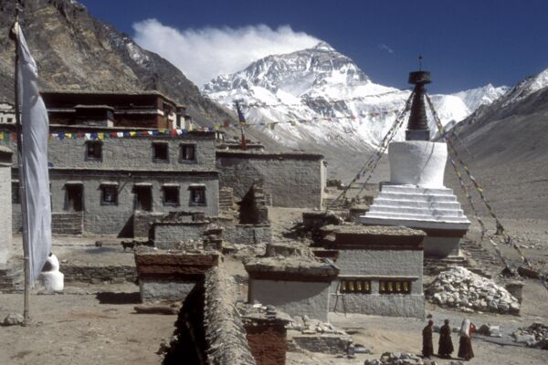 Everest Basislager, Tibet - Trekking zum Mount Everest.
