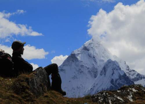 EBC Trek: Join our Everest trek to the famous basecamp in Nepal, Kala Patthar. View the top of the world - more info here!