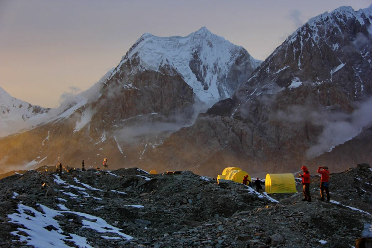 Khan Tengri Expedition, Basislager Südiniltschek, Tien Shan | © SummitClimb Khan Tengri Expedition