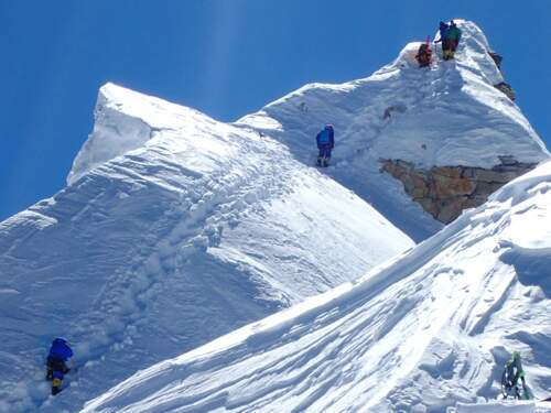 Manaslu ascent - climb Nepals easiest 8000m-peak with SummitClimb