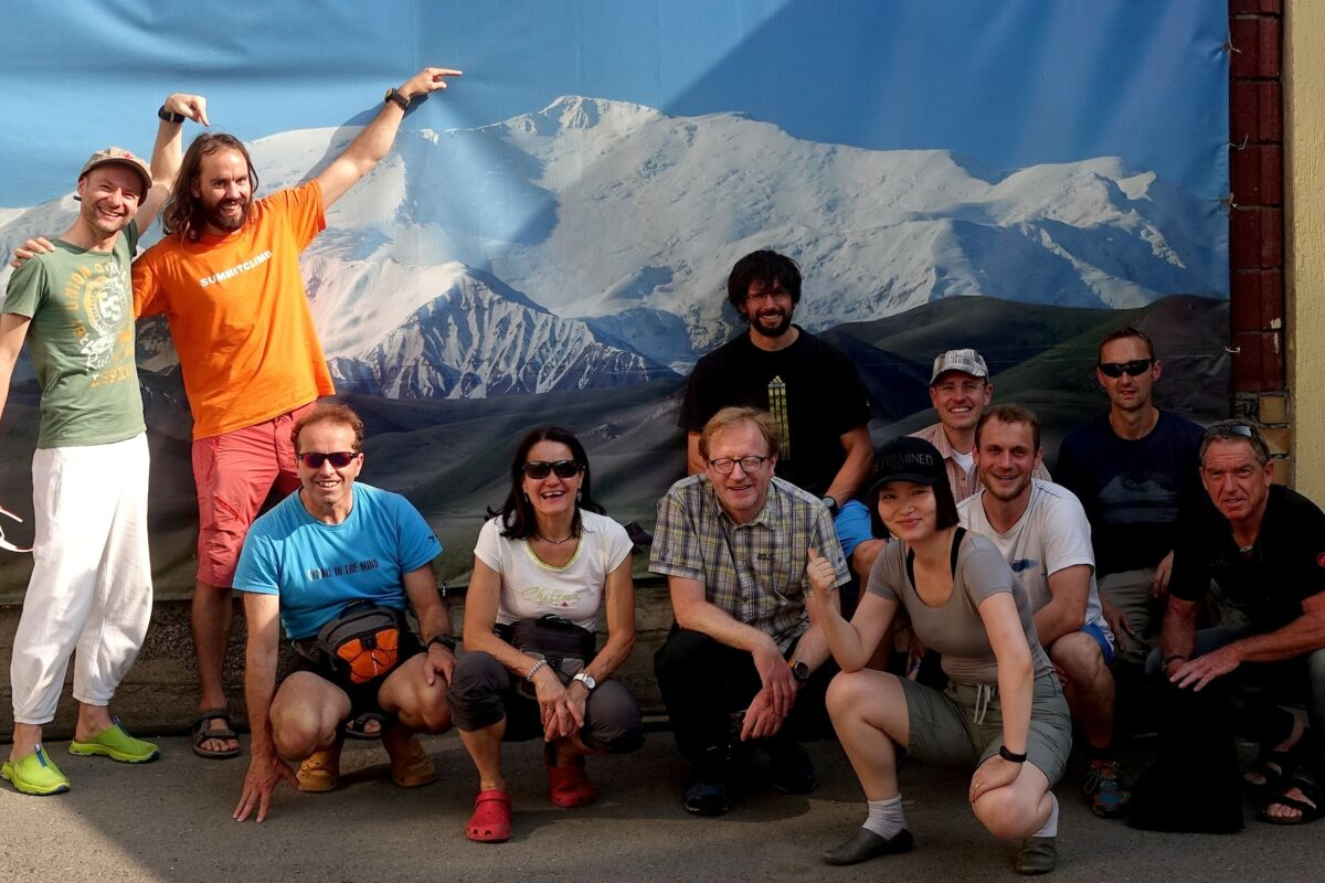 SummitClimb Pik Lenin Team 2017 in Osh | © SummitClimb 2017 Pik Lenin (c) Felix Berg
