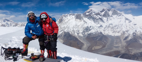 Ama Dablam Summit: Felix and Magdalena, Mount Everest (picture (c) Felix Berg)