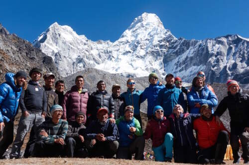 Ama Dablam expedition: Join us to climb this famous rock-and-ice-mountain in Nepal, arguably the most beautiful mountain of the world.