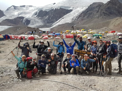 Aconcagua Team at Base Camp - 2020 SummitClimb expedition | © SummitClimb Aconcagua