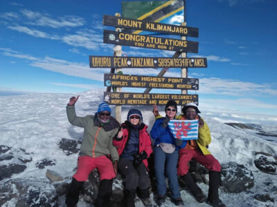 Kilimanjaro 2020 Summit: On Top of Africa. | © SummitClimb Kilimanjaro