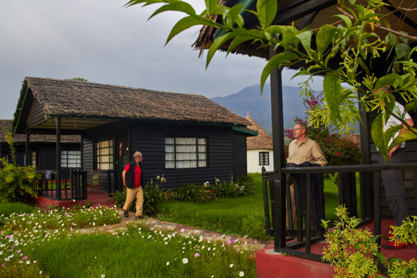 Comfortable lodge at Arusha National Park