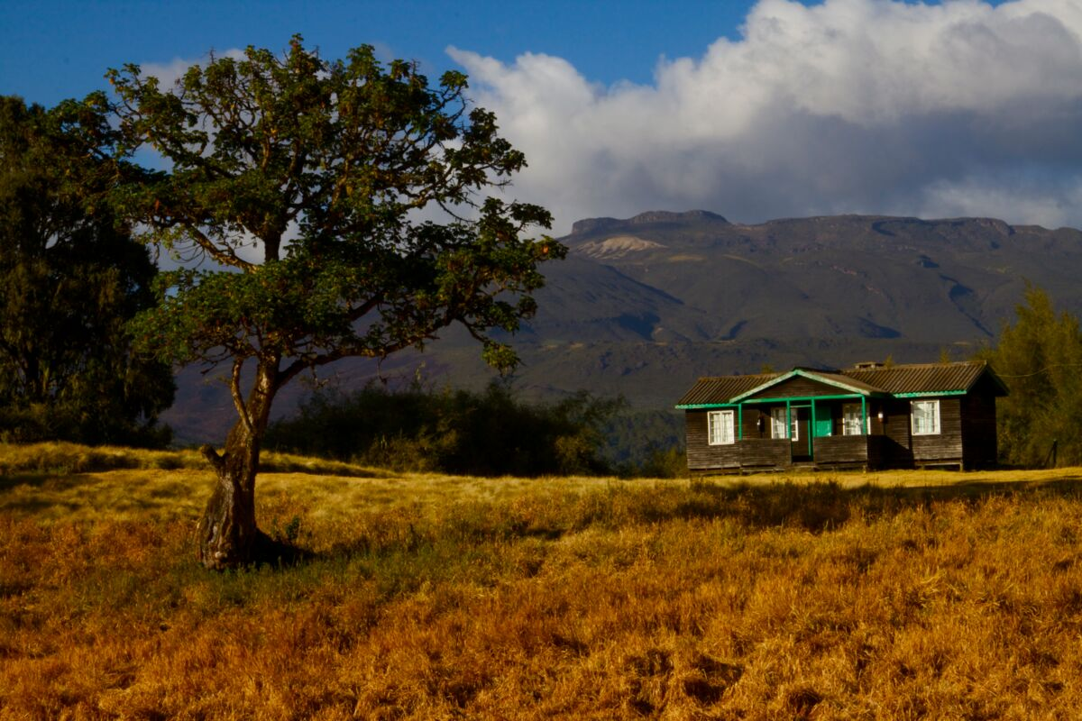 Chogoria Mountain Lodge auf der Chogria Route - Mount Kenia | © SummitClimb Kenya (c) Felix Berg