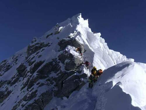 Climb Everest via the classical route from Nepal with the experts of fair valued expeditions on Mount Everest, basic and guided climbs.