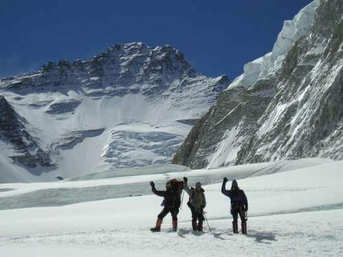 Expedition to Lhotse, 8516m, the challenging 8000m mountain opposite Mount Everest, Nepal. Click here for info on your Lhotse ascent!