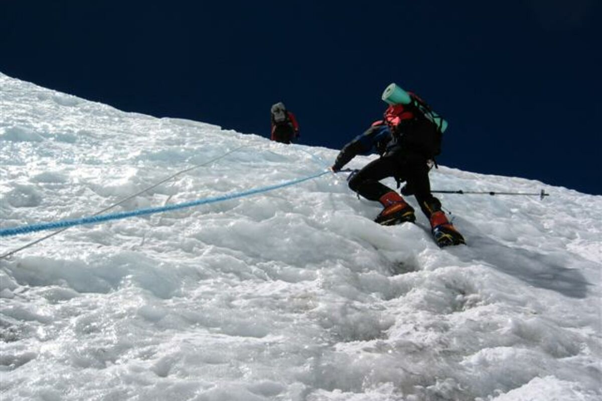 Training im ABC für die Everest Besteigung Tibet | © SummitClimb Mount Everest