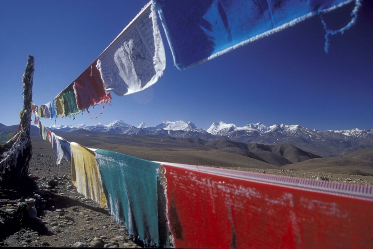 Everest Besteigung Tibet - Anreise durch Tibet | © Mount Everest Expedition 2004 (c) Felix Berg