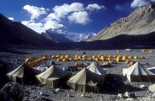 Expedition zur Mount Everest Nordseite - Tibet/China. Mit internationalem Team und Expeditionsleiter, Top-Profis - jetzt anfragen.