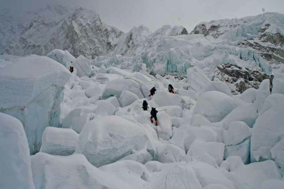 Expedition in Nepal, Khumbu Ice Fall