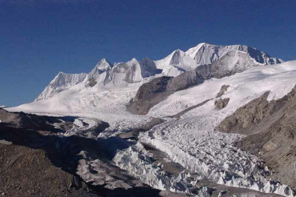 Blick in den Himalaja - Cho Oyu Expedition