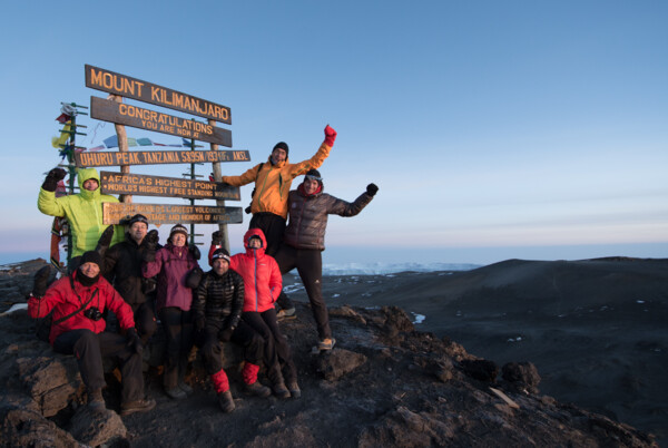 Kilimanjaro Summit 2014 - (c) Julian Beermann