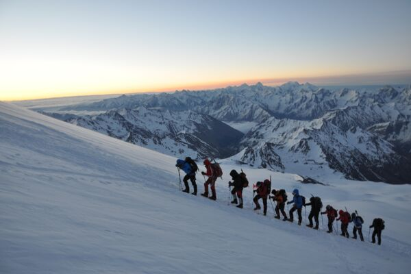 Elbrus Skitour, Expedition nach Russland